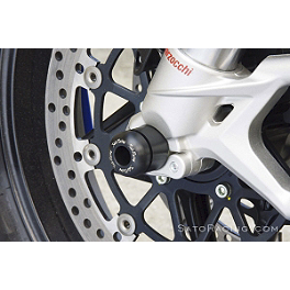 Sato Racing Front Axle Sliders - Black - 2006 MV Agusta F4 1000 S Sato Racing Rear Axle Sliders - Black