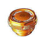 Sato Racing Front Brake Reservoir Cap - Gold