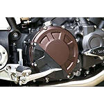 Sato Racing Clutch Cover Protector - Black - Sato Racing Cruiser Engine Parts and Accessories