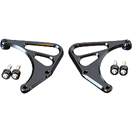 Sato Racing Heel Guard Set - Graves Carbon Fiber Replacement Heel Guard For Graves Rearset