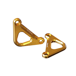 Sato Racing Hook Set - Gold - 2011 Kawasaki EX250 - Ninja 250 Sato Racing Adjustable Handlebars