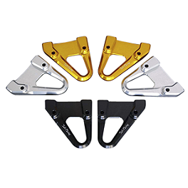 Sato Racing Hook Set - Black - 2010 Ducati 1198R Powerstands Racing Swingarm License Plate Bracket