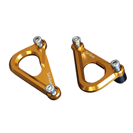 Sato Racing Hook Set - Gold - 2011 MV Agusta F4 Sato Racing Stock Replacement Footpegs