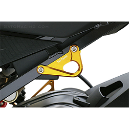 Sato Racing Left Hook - Gold - Pit Bull Trailer Restraint System
