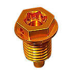 Sato Racing Oil Drain Bolt - Gold