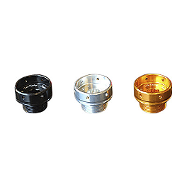 Sato Racing Round Style Oil Filler Cap - Sato Racing Swingarm Hook Set - Gold
