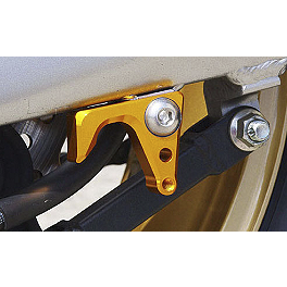 Sato Racing Swingarm Hook Set - Gold - Suzuki Genuine Accessories Rear Hugger - Grey