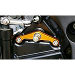 Sato Racing Shift Spindle Holder - Gold - Sato Racing Motorcycle Controls