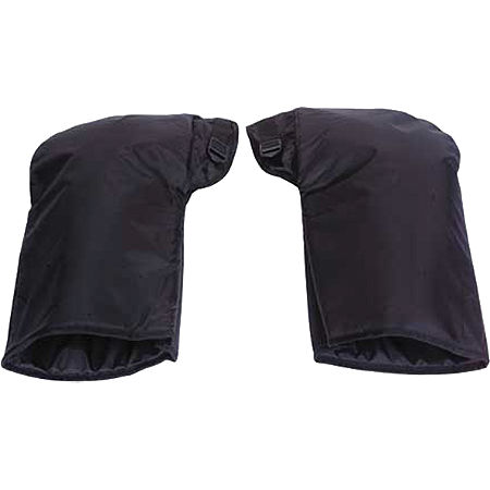 Spi Cold Weather Handlebar Gauntlets - Black - Main