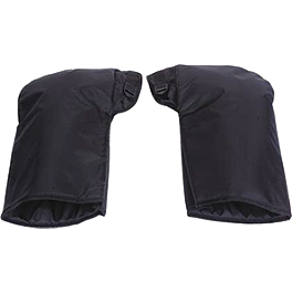 Spi Cold Weather Handlebar Gauntlets - Black - Spi Cold Weather Handlebar Gauntlets - Black