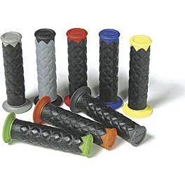 Spider Grips ATV Slim Line SLT Grips - Thumb Throttle - ODI Cush Dual-Ply ATV Grips - Thumb Throttle