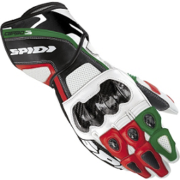 SPIDI Carbo-3 Gloves - Teknic Xcelerator Gloves