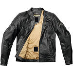 Spidi Ring Leather Jacket - Motorcycle Jackets
