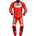 Spidi Track Wind Replica Leather Touring Suit - Motorcycle Race Suit Leathers