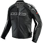 Spidi Track Wind Vented Leather Jacket - SPIDI Motorcycle Jackets and Vests