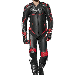 SPIDI Track Wind Pro Leather Tracksuit - AGVSport Imola Leather One-Piece Suit