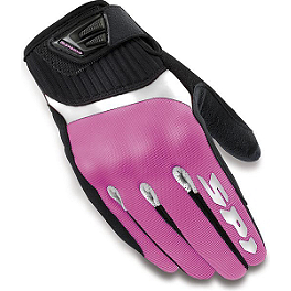 SPIDI Women's G-Flash Textile Gloves - Cortech Women's HDX2 Gloves