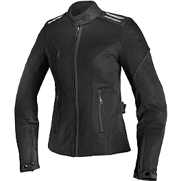 SPIDI Women's Netix Textile Jacket - Continental Race Attack Custom Radial Front Tire - 120/70-21