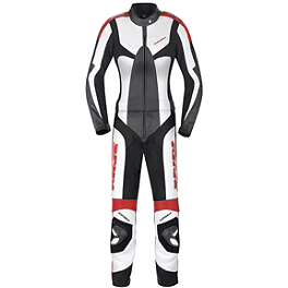 SPIDI Women's Poison Leather Touring Suit - Alpinestars Women's Stella Anouke Leather One-Piece Suit