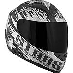 Speed & Strength SS1100 Helmet - Stars & Stripes - Speed and Strength Full Face Dirt Bike Helmets