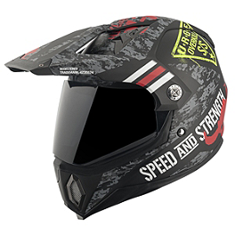 Speed & Strength SS2500 Helmet - Urge Overkill - Speed & Strength SS2500 Anti-Fog Shield
