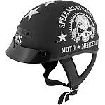 Speed & Strength SS300 Helmet - Moto Mercenary -  Half Shell Cruiser Helmets