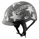 Speed & Strength SS300 Helmet - Stars & Stripes - Speed and Strength Motorcycle Half Shell Helmets