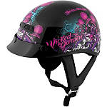 Speed & Strength SS300 Helmet - Wicked Garden -  Half Shell Cruiser Helmets