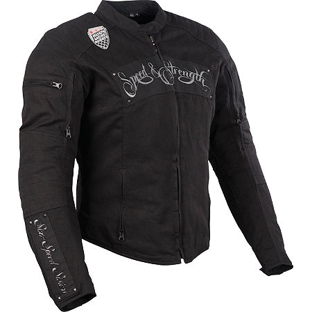 Speed & Strength Women's Six Speed Sisters Textile Jacket - Main