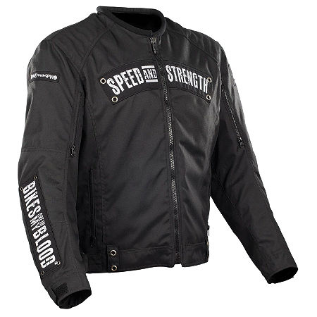 Speed & Strength Bikes Are In My Blood Jacket - Main