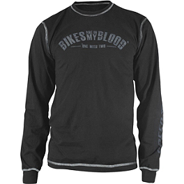 Speed & Strength Bikes Are In My Blood Long Sleeve T-Shirt - Alpinestars Sportin Wood Long Sleeve T-Shirt