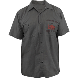 Speed & Strength Tough As Nails Garage T-Shirt - Joe Rocket Staff Shirt