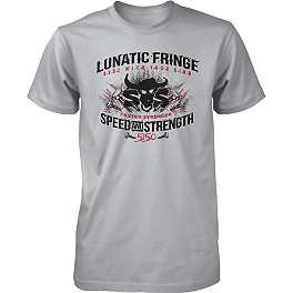 Speed & Strength Lunatic Fringe T-Shirt - 2004 Honda CBR600F4I Jardine RT-1 Slip-On High Mount Aluminum Exhaust