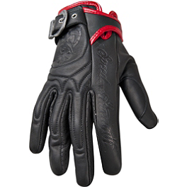 Speed & Strength Women's MotoLisa Gloves - Power Trip Women's Graphite Gloves