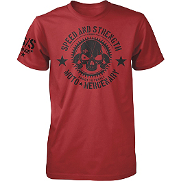 Speed & Strength Moto Mercenary T-Shirt - Kawasaki Engine T-Shirt