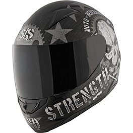 Speed & Strength SS1100 Helmet - Moto Mercenary - 2008 Kawasaki EX250 - Ninja 250 Kawasaki Genuine Accessories Team Monster Graphic Kit