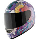 Speed & Strength Women's SS1100 Helmet - Flower Power - Womens Full Face Motorcycle Helmets