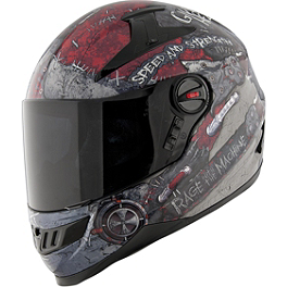 Speed & Strength SS1300 Helmet - Rage With The Machine - Speed & Strength SS1300 Anti-Fog Shield