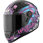 Speed & Strength SS1300 Helmet - Wicked Garden - Speed and Strength Full Face Motorcycle Helmets