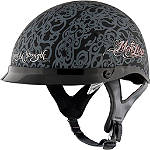 Speed & Strength Women's SS500 Helmet - MotoLisa -  Half Shell Cruiser Helmets