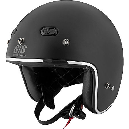 Speed & Strength SS600 Helmet - Back N Black - Main