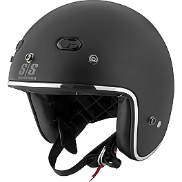 Speed & Strength SS600 Helmet - Back N Black - Xpeed XF312 Helmet