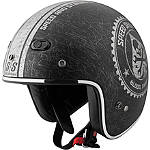 Speed & Strength SS600 Helmet - Speed Shop -  Open Face Motorcycle Helmets