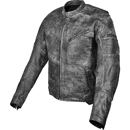 Speed & Strength Speed Shop Leather Jacket - AGVSport Element Vintage Leather Jacket