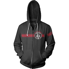 Speed & Strength Speed Shop Hoody - Icon Rat Zip Hoody