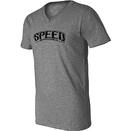 Speed & Strength Strip Search V-Neck T-Shirt - Icon 1000 Ultra Tube Scarf