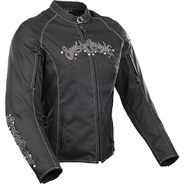 Speed & Strength Women's To The Nines Textile Jacket - Speed & Strength Women's Kiss 'N Tell Textile Jacket