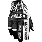 Speed & Strength Top Dead Center Gloves - Speed and Strength Shorty Motorcycle Gloves