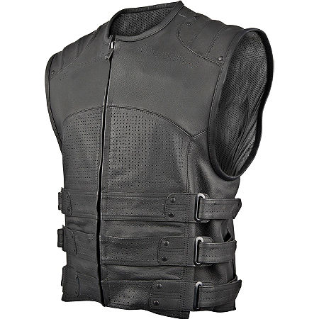 Speed & Strength Tough As Nails Leather Vest - Main
