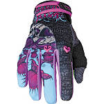 Speed & Strength Women's Wicked Garden Gloves - Speed and Strength Motorcycle Riding Gear